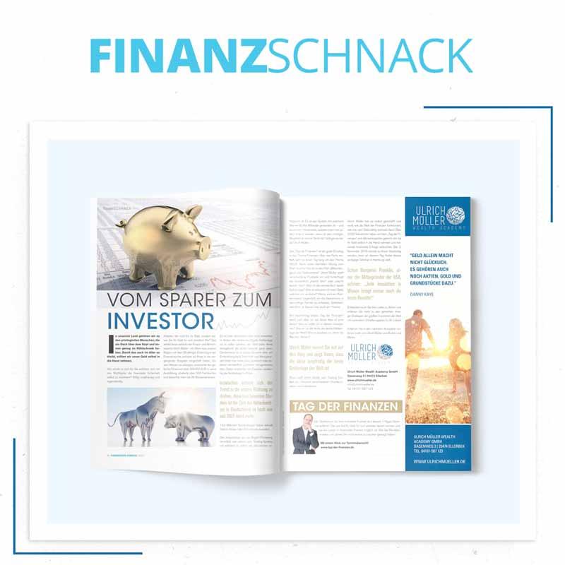Finanzschnack - vom Sparer zum Investor mit Ulrich Müller